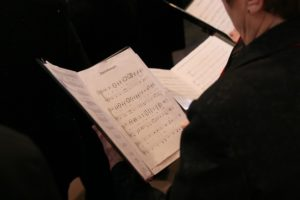 Klassischer Gesangsunterricht in Köln für Chor Aufnahme